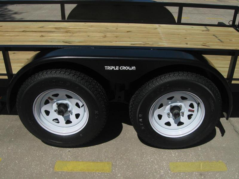 """6.5x14 Utility Trailer + BRAKES $3799.12 """"Out The Door"""""""