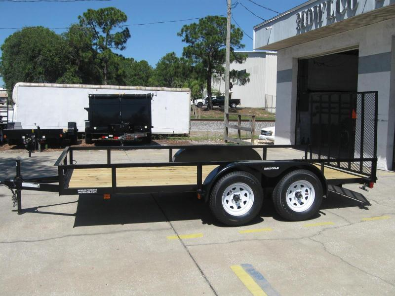 "6.5x14 Utility Trailer + BRAKES $2947.32 ""Out The Door"""