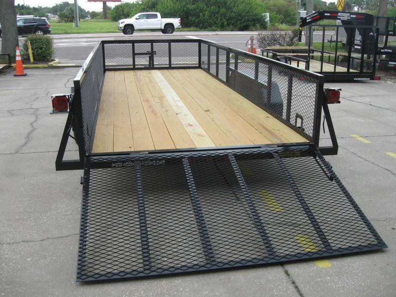 """7x18 Anderson Utility + 2' MESH SIDES $4124.32 """"Out The Door"""""""