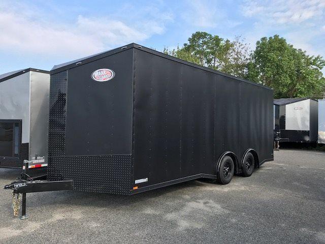 2018 Diamond Cargo 8.5x20 TA Matte Black - Blackout Edition