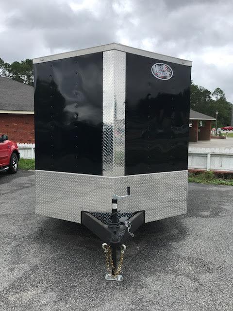 2021 7x14 TA Enclosed Cargo Trailer