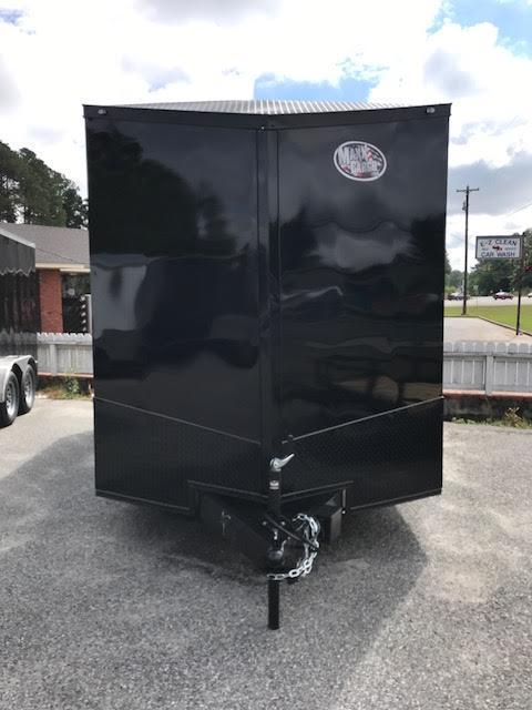 2021 Anvil 7x16 TA Blackout Enclosed Cargo Trailer