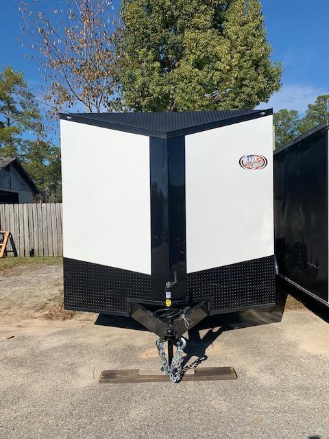 2020 Spartan Cargo 8.5x16 Motorcycle Trailer