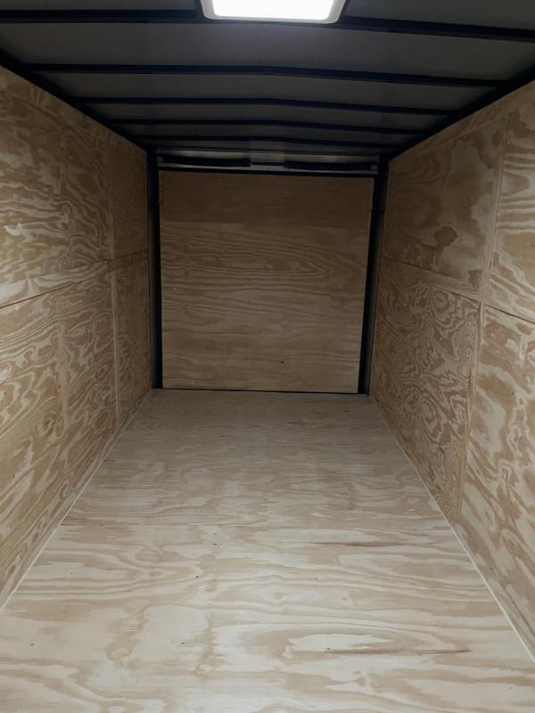 2021 Spartan Cargo 7x16TA Silver Enclosed Cargo Trailer