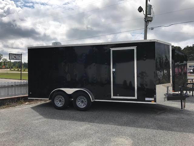 2020 Diamond Cargo 7x16 TA Motorcycle Trailer