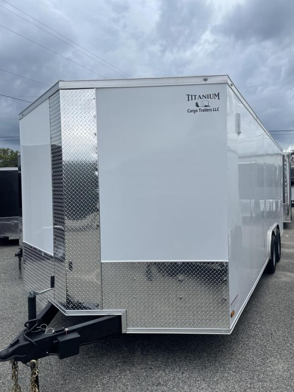 2022 Titanium 8.5x20TA Enclosed Cargo Trailer