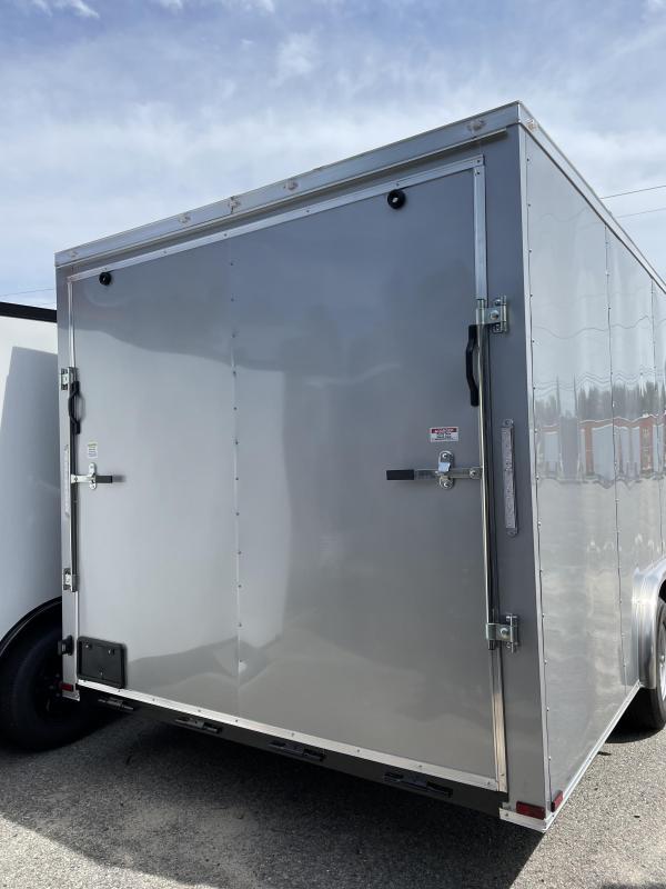 2021 Spartan Cargo 8.5X20TA SILVER Enclosed Cargo Trailer