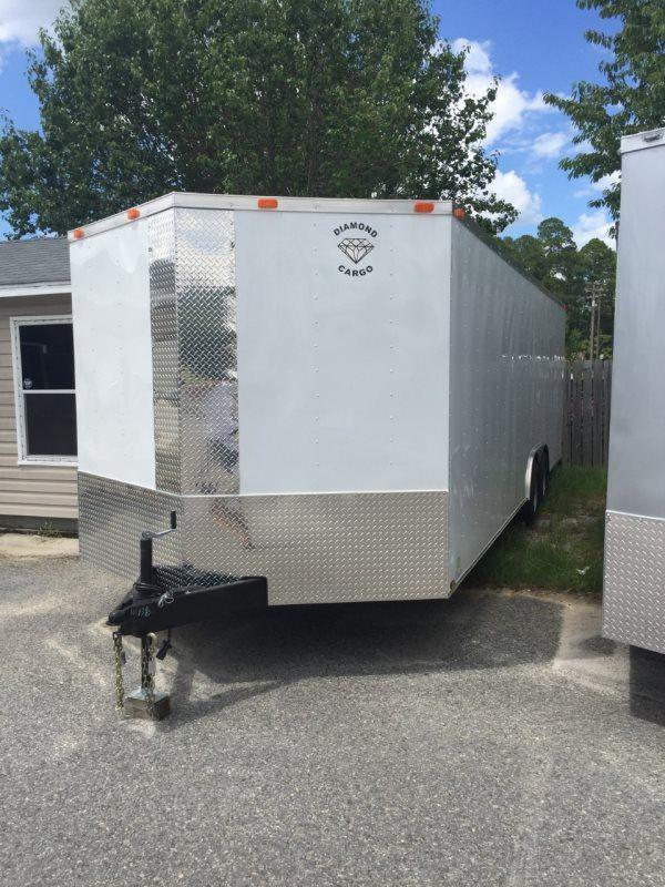 2017 Diamond Cargo 8.5 x 24 TA Enclosed Cargo Trailer