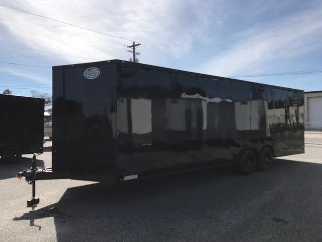 2020 Diamond Cargo 8.5x20 Ft Enclosed Cargo Trailer
