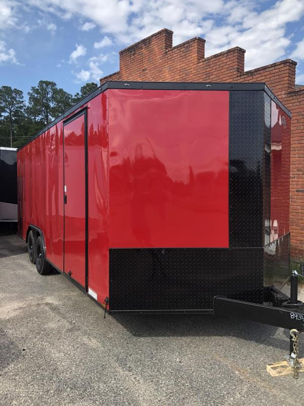 2021 Diamond Cargo 8.5x20TA Car / Racing Trailer