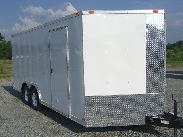 2017 Diamond Cargo 8.5 x 20 TA Enclosed Cargo Trailer