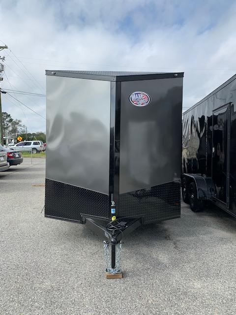 2020 Anvil 7x14 TA Blackout Motorcycle Trailer