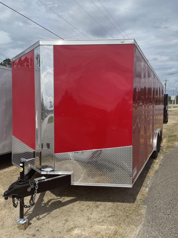 2021 Spartan Cargo 8.5x20TA Enclosed Cargo Trailer