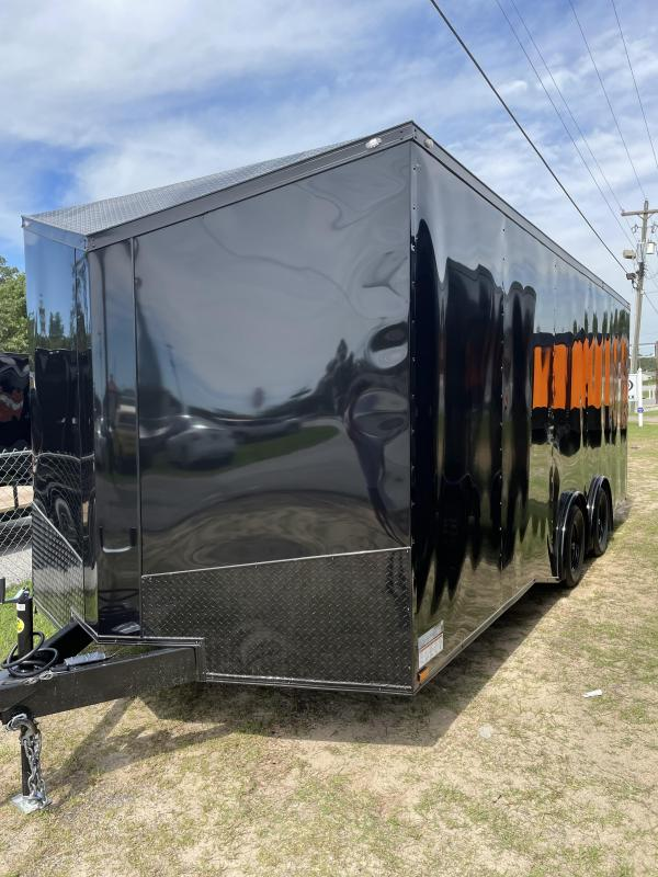 2021 Spartan Cargo 8.5X20TA BLACKOUT Enclosed Cargo Trailer