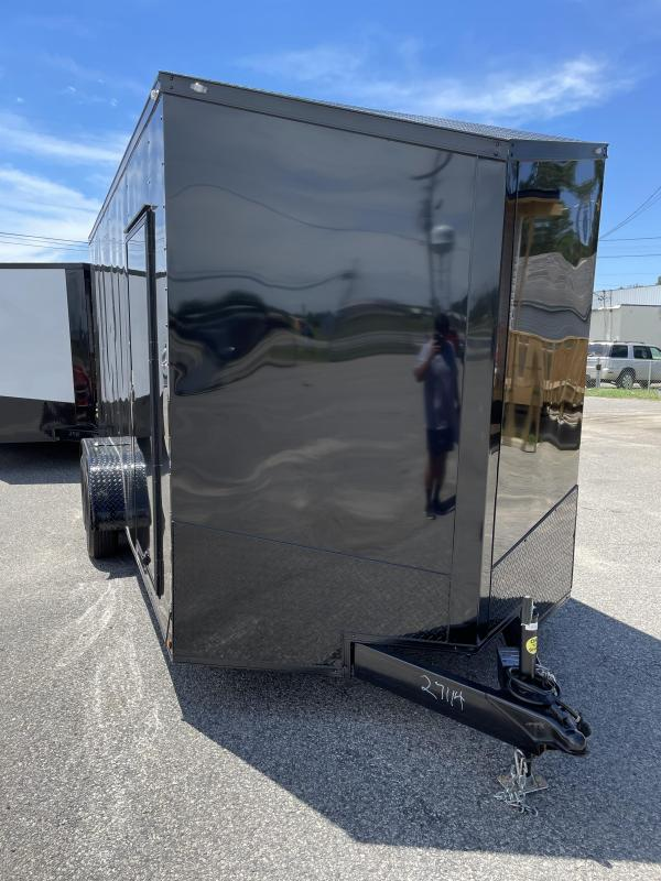 2021 Spartan Cargo 7X16 TA BLACKOUT Enclosed Cargo Trailer