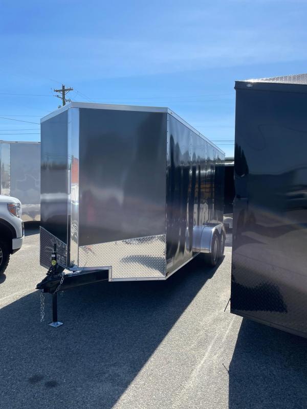 2021 Spartan Cargo 7X16TA Enclosed Cargo Trailer