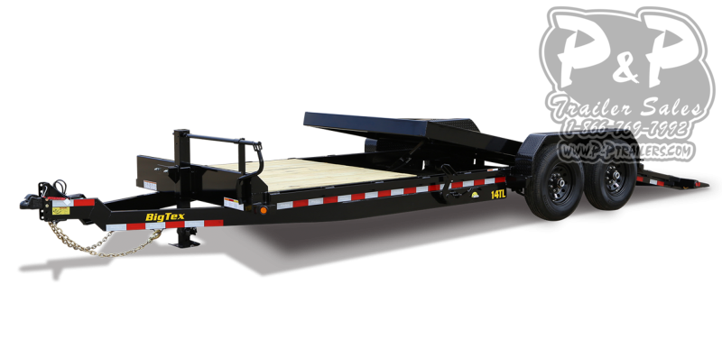 2021 Big Tex Trailers 14TL-20BK 20 ' Flatbed Trailer