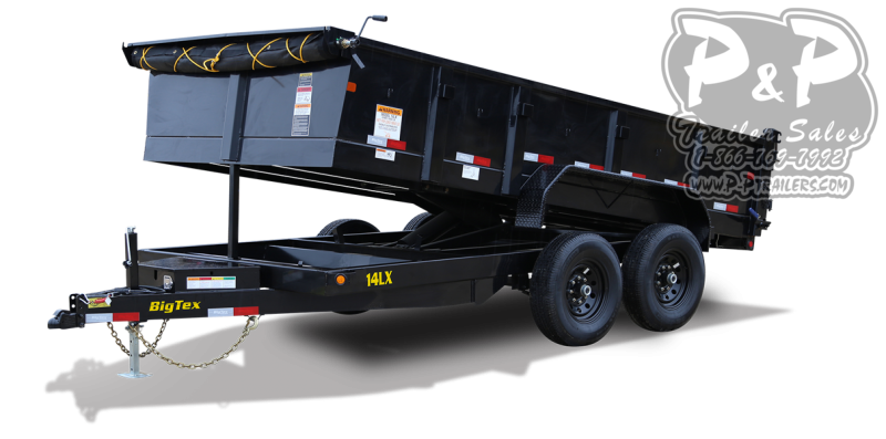 2021 Big Tex Trailers 14LX 16BK7SIRPD 16 Dump Trailer