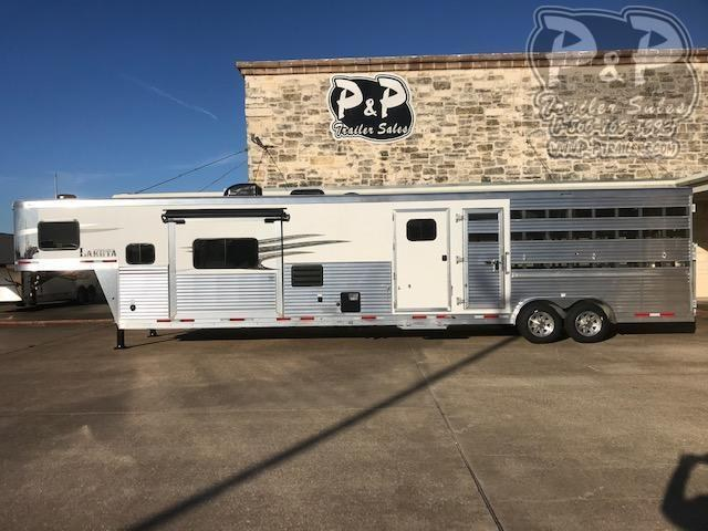 2020 Lakota Charger LE81415 35 ft Livestock Trailer LQ