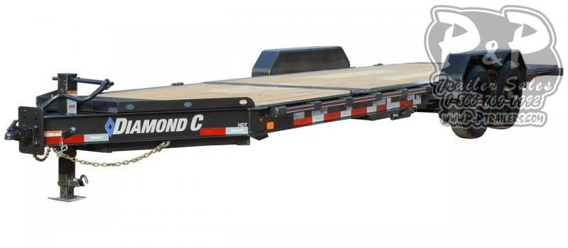 2021 Diamond C Trailers HDT Tilt 20 ' Flatbed Trailer