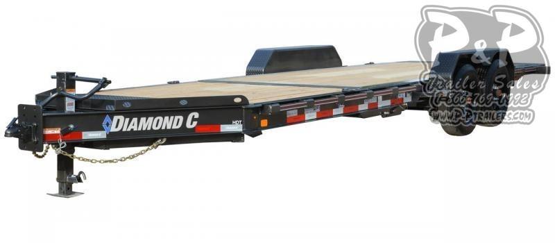 2021 Diamond C Trailers HDT Tilt 20 ' Flatbed Trailer