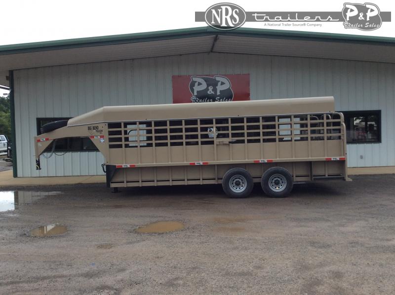 2021 Big Bend 206FTSP 20 ' Livestock Trailer