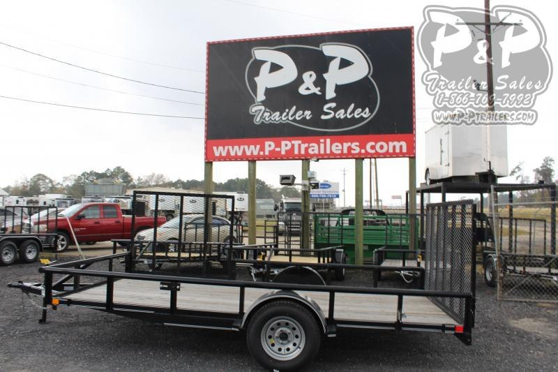 "2021 P and P PPSA14X83LDRGSGPT 83"" x 14 ' Utility Trailer"