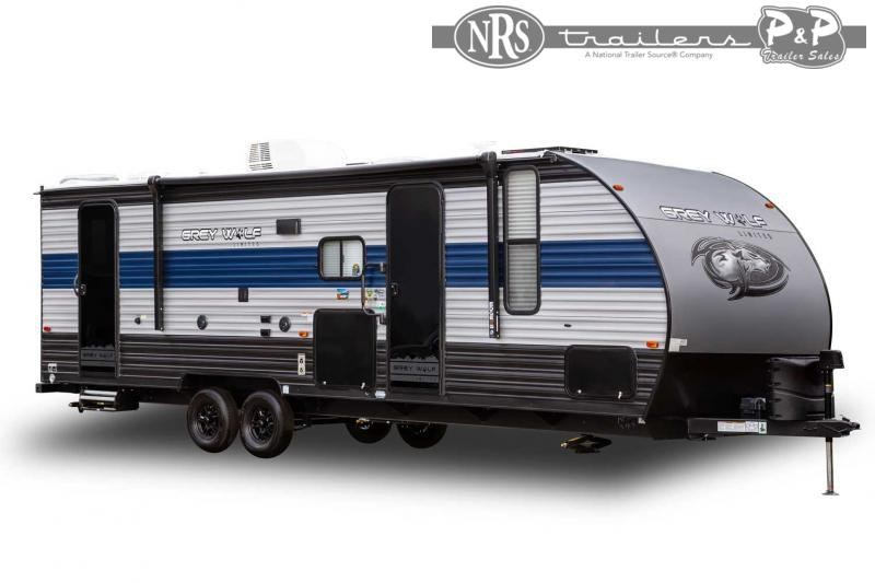2022 Forest River Grey Wolf 26MBRR 33 ' Toy Hauler RV