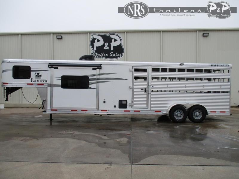 2022 Lakota Charger LE1612 28 ' Livestock Trailer LQ