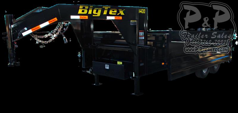 2020 Big Tex Trailers 14OD-GN Dump Trailer