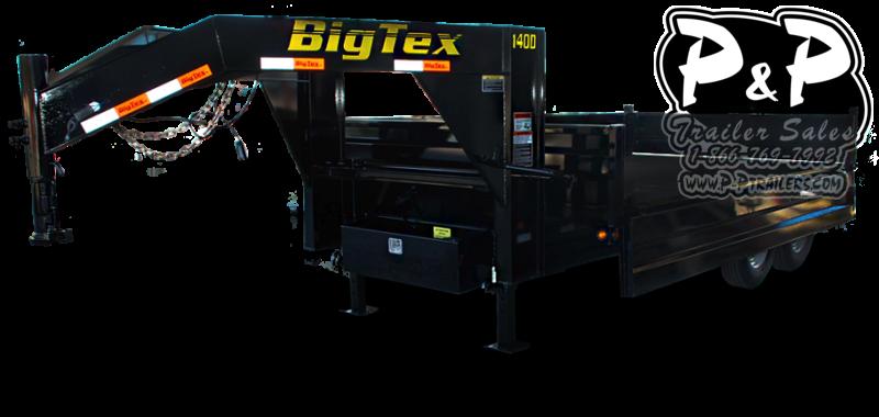 2021 Big Tex Trailers 14OD-GN Dump Trailer