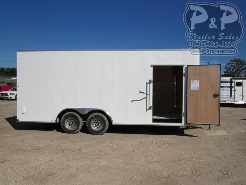 2020 Carry-On Cargo Trailers 8.5X20CGRBN 20 ft Enclosed Cargo Trailer