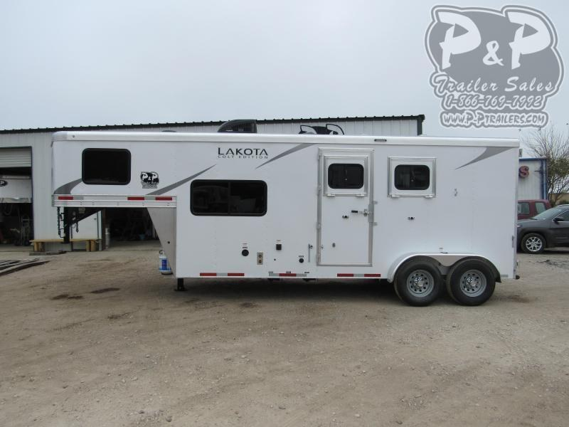 2021 Lakota Colt AC27NS 2 Horse Slant Load Trailer 7 FT LQ