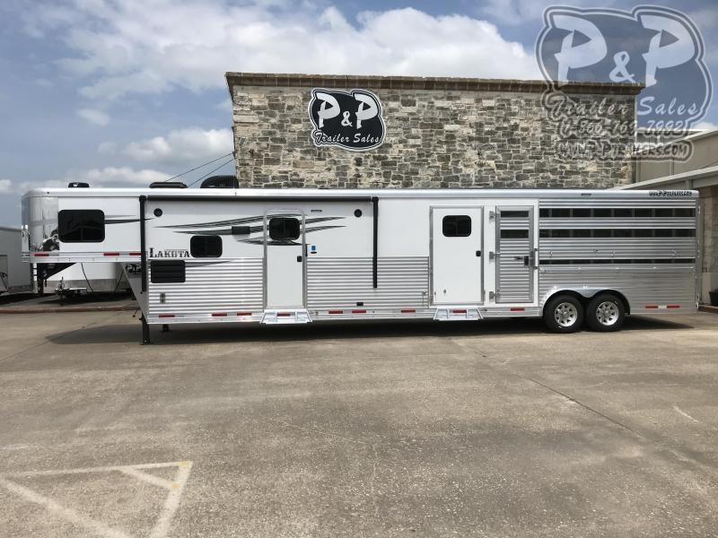 2020 Lakota Charger LE81415BB 35 ft Livestock Trailer LQ
