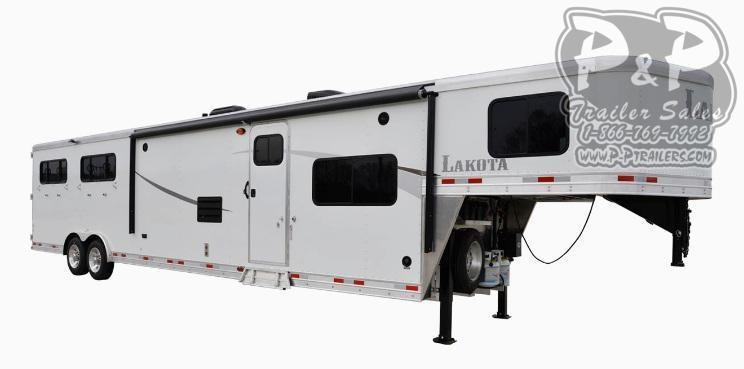 2021 Lakota Colt AC8X15 3 Horse Slant Load Trailer 15 FT LQ