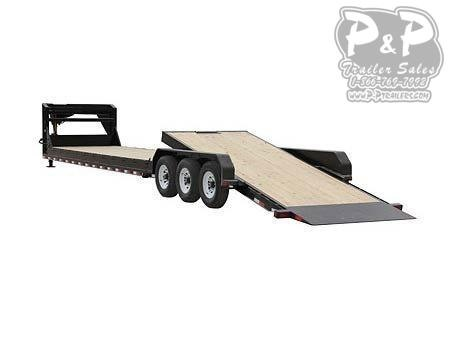 2020 PJ Trailers 8 in. Channel Equipment Tilt (T7) Equipment Trailer