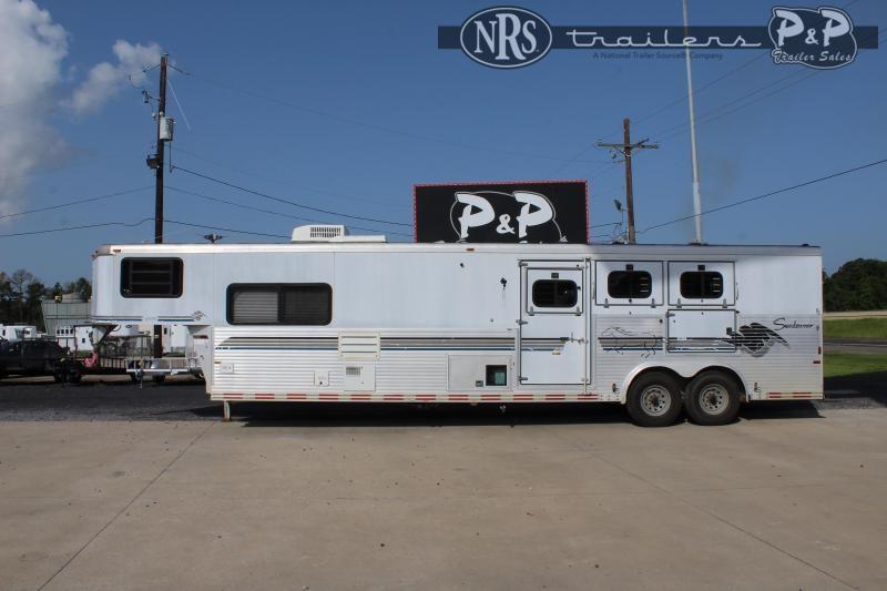 1999 Sundowner Trailers Siesta 8310 3 Horse Slant Load Trailer 10 FT LQ