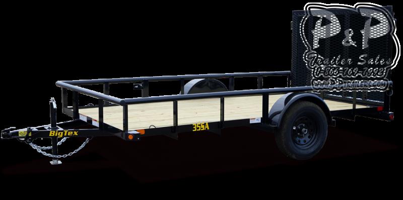 2021 Big Tex Trailers 35SA-14XBK4RG 14 ' Utility Trailer