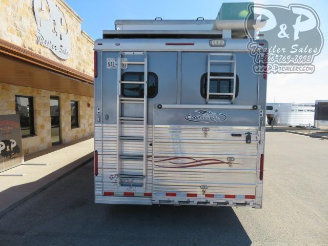 2008 Bloomer 8416 Duster Conversion 4 Horse Slant Load Trailer 16 FT LQ