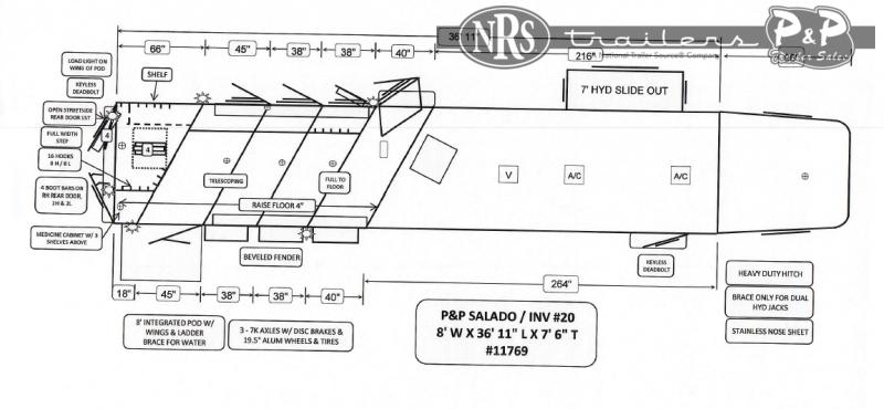 2022 Bloomer 8418BBPCOL 4 Horse Slant Load Trailer 18 FT LQ With Slides w/ Ramps