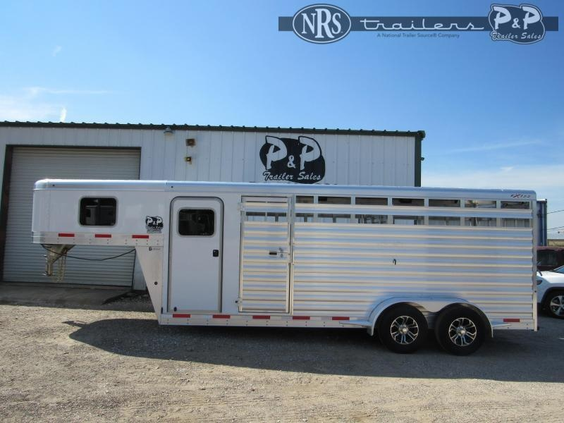 2022 Exiss Trailers Express 6820 STC 20 ' Livestock Trailer