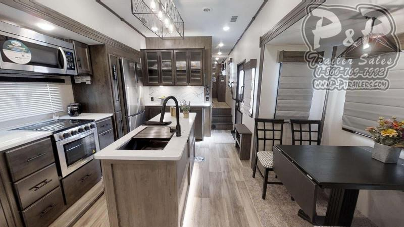 """2021 Forest River Cardinal Limited 366DVLE 485 """" Fifth Wheel Campers RV"""