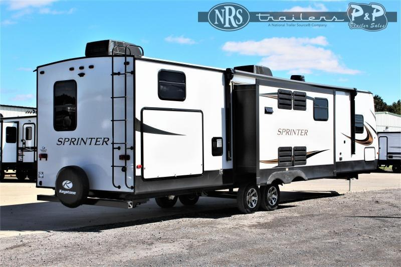 2021 Keystone RV Sprinter Limited 341BIK 38 ' Travel Trailer RV