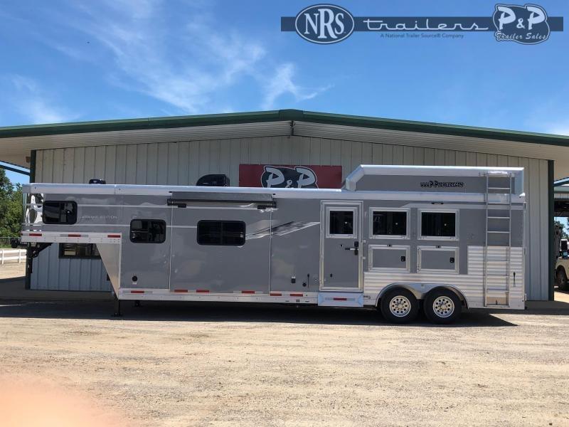 2021 SMC Horse Trailers SL8313SSR 3 Horse Slant Load Trailer 13 FT LQ w/ Slideouts