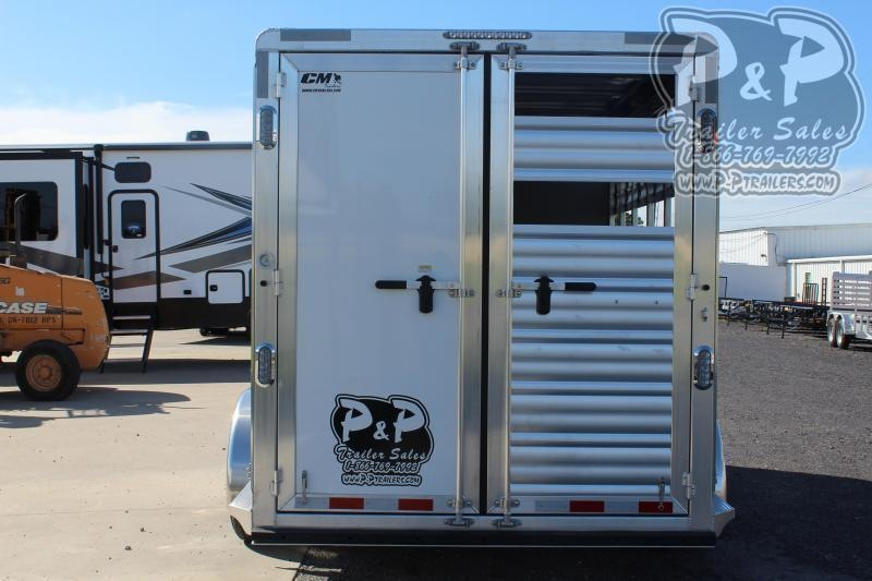 2021 CM CMH5043-16RT 3 Horse Slant Load Trailer