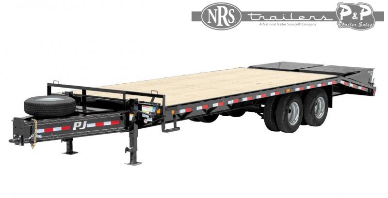 2021 PJ Trailers Classic Pintle with Duals (PL) 20 ' Flatbed Trailer