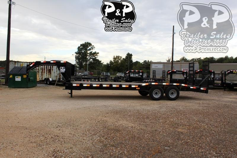 "2021 P and P PPGNEQ24X102HDFURDOF 288 "" Flatbed Trailer"