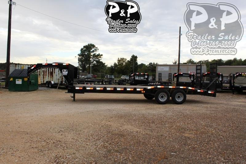 """2021 P and P PPGNEQ24X102HDFURDOF 288 """" Flatbed Trailer"""