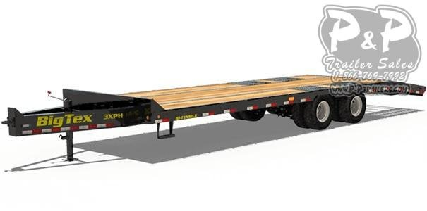 2021 Big Tex Trailers 3XPH-20+5 Equipment Trailer