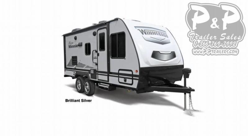 "2021 Winnebago Micro Minnie 2106FBS 263 "" Travel Trailer RV"